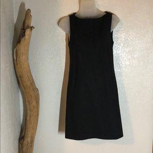 Theory black dress size 2